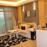 背景墙简洁客厅沙发装修效果图