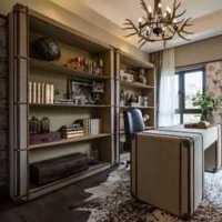 現代別墅浪漫書房豪華房屋裝修效果圖
