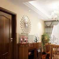 大户型东南亚二居餐厅吊灯装修效果图