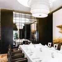 餐厅背景墙奢华别墅灯具装修效果图