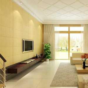 武漢歐式客廳大壁裝修效