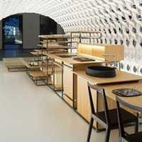 餐厅130平米三居室装修效果图