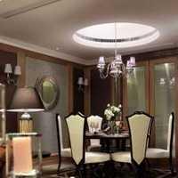 三居室咖啡色暖色调美式装修效果图