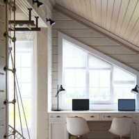 简中式风格三居室客厅影视墙效果图