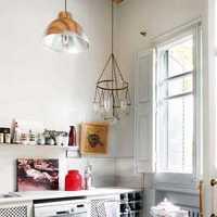 现代简约客厅抽象装饰画效果图