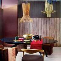 餐边柜130平米餐厅新房装修效果图