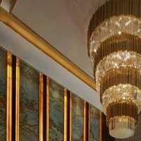别墅客厅茶几别墅新古典装修效果图