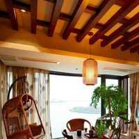時尚簡約家居裝修客廳餐廳吊頂圖片效果圖