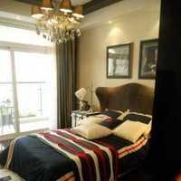 对比色卧室家具装修效果图