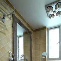 新古典别墅绿色清新卫生间装修效果图