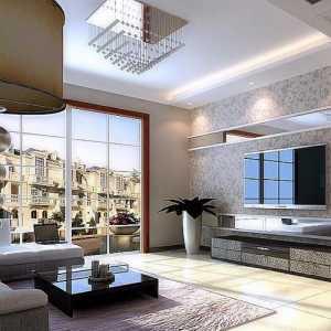一个卧室和客厅朝阳装修户型效果图