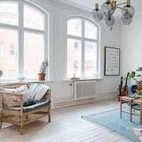 四居别墅欧式客厅装修效果图