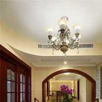 不同顏色的奢華 歐式客廳裝修吊頂設計