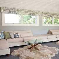 二居室电视柜客厅沙发装修效果图