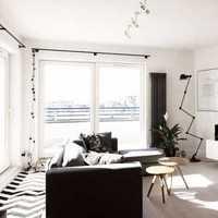 壁纸背景墙客厅装修效果图