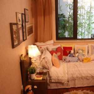 北京卧室装修暖色