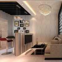 现代别墅二居卧室装修效果图