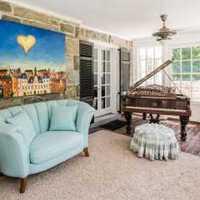 现代客厅背景墙客厅简约装修效果图
