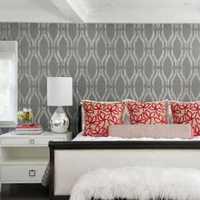 现代感卧室效果图