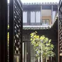 现代奢华别墅庭院装修效果图