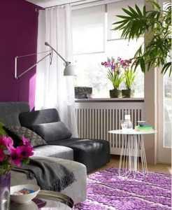 恢弘紫色 大气时尚客厅