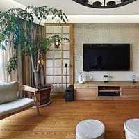 美式風格公寓經濟型客廳沙發海外家居效果圖