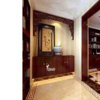 经典美式别墅玄关家庭装修效果图