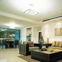 现代高档三室两厅装修效果图