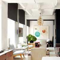 87平二居室装修效果图
