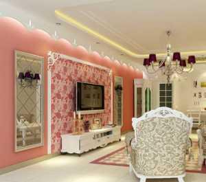 北京客厅侧墙装饰