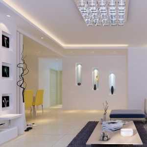 简约白色 时尚大气客厅装修