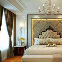 混搭風格復式富裕型110平米臥室沙發效果圖