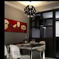 球形吊灯简约餐厅现代三居装修效果图