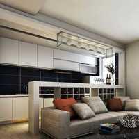 中式簡約風格廚房整體櫥柜效果圖