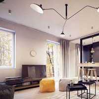 沙发茶几电视背景墙富裕型装修效果图