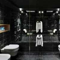 条纹壁纸卫生间装修效果图