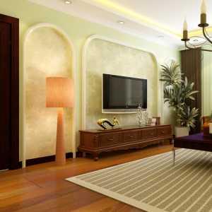 110平米简约美式风格的家