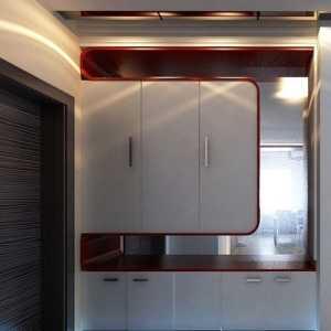 室內實木玄關柜裝飾效果效果圖