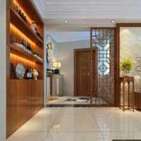 时尚柜现代简约三室两厅装修效果图