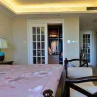 卧室大户型现代三居装修效果图