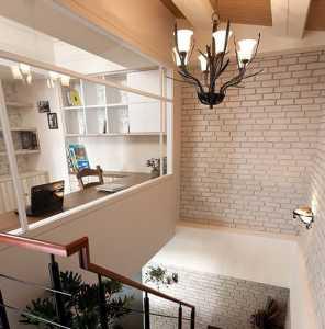 美式風格二居室玄關儲物柜梳妝臺效果圖