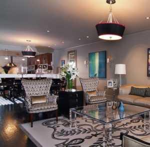 兩室一廳裝修效果圖,現代風格客廳裝飾
