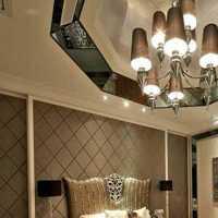 卧室卧室背景墙双人台灯装修效果图