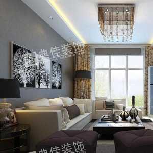 三室二厅二卫5万元装修效果图