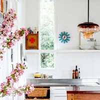 砖砌美式厨房装修效果图