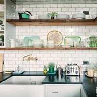 橱柜厨房美式乡村富裕型装修效果图