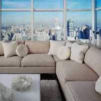 二居客厅现代简约电视柜装修效果图