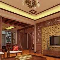 中式木質舒適別墅家裝效果圖