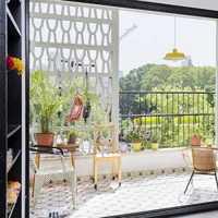小阳台绿植摆放装修效果图