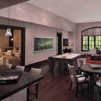 餐厅灯具中式三居室装修效果图